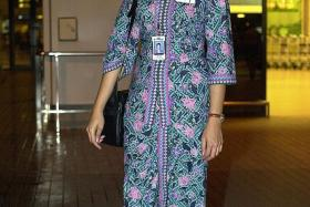REVEALING?: The MAS uniform has become the target of Mr Ahmad's ire.