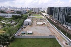 PROBLEM: The construction site.