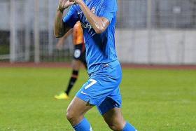 NEW EAGLES: Gabriel Quak (above) joins Geylang International along with former LionsXII teammates Faritz Hameed and Al-Qaasimy Rahman.