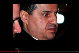 HIS VERSION: A screengrab of Mr Ehsan Abdulaziz, who claimed that it was the teenager who pulled him on top of her.
