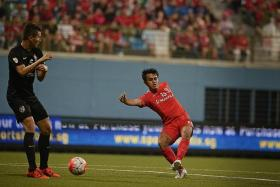 SETTLED: Shahdan Sulaiman is the latest LionsXII player to sign for Tampines Rovers, although he will be taking a pay-cut.