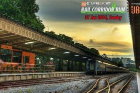 END POINT: Runners will get to finish the run at the old Tanjong Pagar railway station.