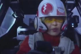 """Game of Thrones actress Jessica Henwick appears in Star Wars: The Force Awakens as X-wing pilot Jess """"Testor"""" Pava."""