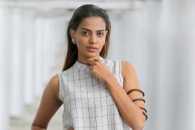 Former Miss Universe Singapore Rathi Menon is set for a stint in Milan to further her modelling career.