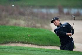 """""""I was fortunate enough to play some good golf and achieve some great results and I hope to start the new season in a similar vein."""" - An Byeong Hun (above) on the Singapore Open next month"""