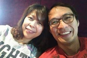 DEAD: Madam Kristen Ng and her husband, Mr Barnabas Lim.