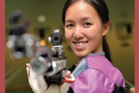GUNNING FOR QUALIFICATION: If Jasmine Ser (above) qualifies for the 2016 Rio Olympics, it would be her second after having competed at the London edition in 2012 on a wildcard.