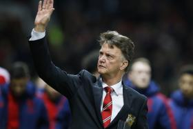 Manchester United manager Louis van Gaal vowed to fight on after the team's 0-0 draw against Chelsea.