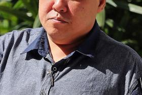 Tan Kian Tiong, 49, was yesterday fined $5,000 for harassing a Korean restaurant worker