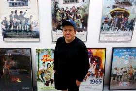 HITMAKER: Mr Melvin Ang, chief executive officer of local film production company mm2 Asia.