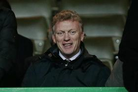 EMPATHY: Former Man United manager David Moyes (above) believes Louis van Gaal deserves more time.