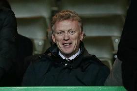 EMPATHY: Former Man United manager David Moyes (above) believes Louis van Gaal deserves more time.