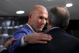 Zinedine Zidane has been appointed as Real Madrid's head coach after Rafa Benitez was sacked.