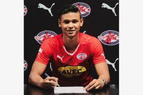 Home United have clinched the signing of Fandi Ahmad's son, Irfan Fandi.