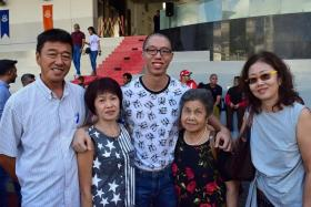 SCDF posted a follow-up photo depicting a smiling recruit and his family after a photo of a BMTC recruit went viral.