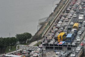UNPAID: Traffic offenders from Singapore owe the Johor state $2m in fines.