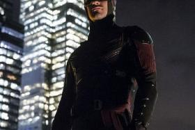 REGIONALISED: Singapore subscribers of Netflix will be able to watch the provider's own TV series Marvel's Daredevil (above) but not popular TV series House Of Cards.