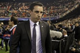 Gary Neville is finding life in management hard as his Valencia is still looking for a win after five games in charge.