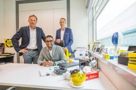 ADVICE: Borussia Dortmund's director of sales and marketing Carsten Cramer (far right) feels the challenge for the S.League is to focus on itself, and not compare with other leagues.