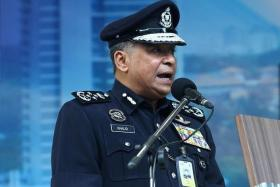 SYRIAN LINK: Malaysia's police chief Khalid Abu Bakar said the suspect received orders from a foreign ISIS member in Syria.