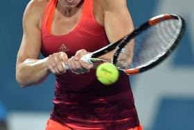 HALEP HEALING: Simona Halep insists that her Achilles' heel injury is much better.