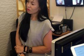 Ms Farfalla Vi, a customer service officer