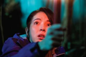 Taiwanese actress Tiffany Hsu in horror flick The Tag-Along
