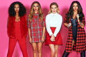 TOP OF THE POPS:(From left) Leigh-Anne Pinnock, Jade Thirlwall, Perrie Edwards and Jesy Nelson of Little Mix.