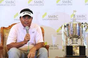 """""""I'm sure there'll be lots of expectations from the home crowd, but I'm old enough to know how to handle this kind of pressure."""" - Singapore's best hope Mardan Mamat"""
