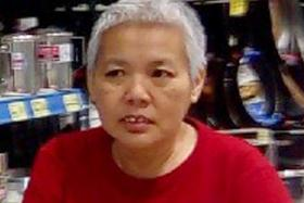 LOST: Madam Fan Lai Meng, 53, has an IQ of 51.