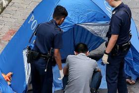 TRAGIC: The 14-year-old boy fell from his 14th-storey home in Yishun, hours after being questioned by the police.