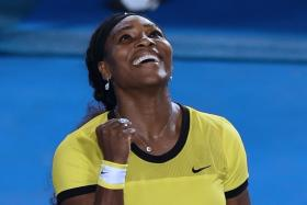 """""""Even if I don't win, I really can take away that I've been really consistent, and I want to continue that. — Serena Williams (above)"""""""
