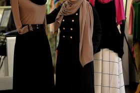 ENTREPRENEUR: Ms Azrina Tahar, owner of fashion label Sufyaa.