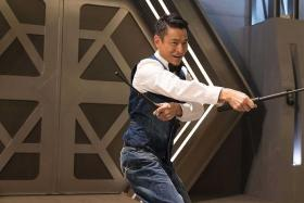"""ALIAS: (Above) Hong Kong actor-singer Andy Lau plays Michael Chan, also known as """"Little Knife""""."""
