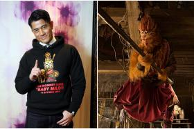 Aaron Kwok stars in new film The Monkey King 2.