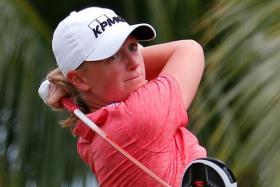 STAR-STUDDED: The world's top three players Lydia Ko, Park Inbee and Stacy Lewis (above) will be in town next month.