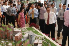 Prime Minister Lee Hsien Loong was the guest-of-honour for the launch of a 20-year master plan for Singapore General Hospital (SGH)