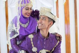SCRAMBLE: Newlyweds Syafiqah Salleh and Jumali Majuri had to engage another firm after they could no longer contact Urbane Wedding Concept.