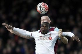 11 - Christian Benteke (in white) has failed to score in his last 11 appearances.