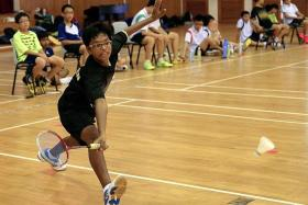 """INSPIRING: Bowen Secondary School's badminton captain Paramasivam Jayadev is described by teacher-in-charge Randy Low as a """"silent leader""""."""