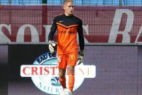 NOT ALL CONVINCED: While FC Tours goalkeeper Benjamin Bertrand's (above) addition is seen as a boost to the Young Lions, some have questioned his six-month signing.