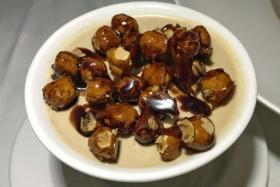 Hazelnut panna cotta from PerBacco