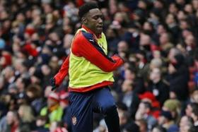 ON A HIGH: With Olivier Giroud misfiring, Danny Welbeck (above) 