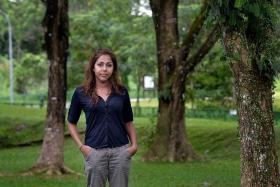 """""""Before I can get a good job, I have to become a citizen first. But I have to get a good job before I can qualify to be a Singaporean. It doesn't make sense."""" — Miss Yuvethra Selvanaiyagam"""