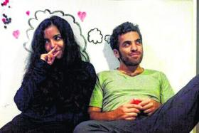 OPEN: Mr Eddy Azar and his wife, Ms Asha Jacob, allow themselves to do as they please when on dates with other people.