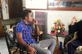 AWARENESS: A still from Simptom, a docudrama where Taufik Batisah speaks to kidney patients and their families.