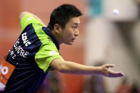 Yang Zi at the World Team Table Tennis Championships.