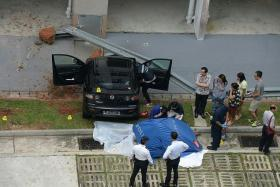 FATAL: A 65-year-old woman was killed when a car driven by a 69-year-old woman crashed into her at a carpark in Bukit Panjang.