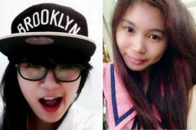 Ms Michelle Phoe Min Yi (left) and Ms Phoebe Lo were tragically killed when the Toyota they were in crashed into a tree at Tampines Road in 2014.