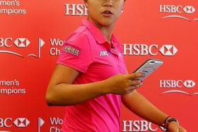 TOP TWO: Park Inbee beat Lydia Ko (above) by two strokes to lift the title last year.